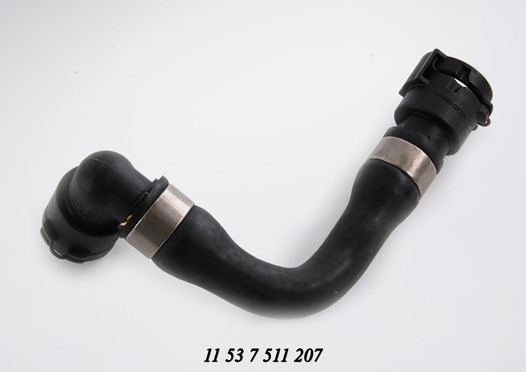 Bmw E39 Sedan 535i Cooling Water Hose Bmw E39 E38 Series