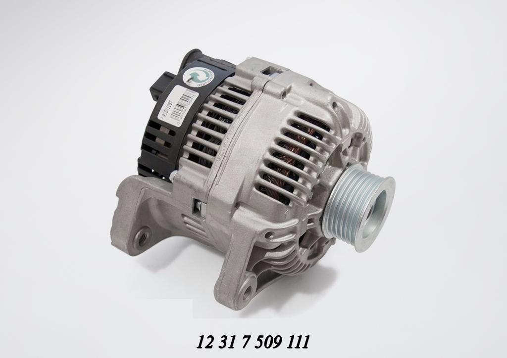 bmw 318i e46 alternator removal