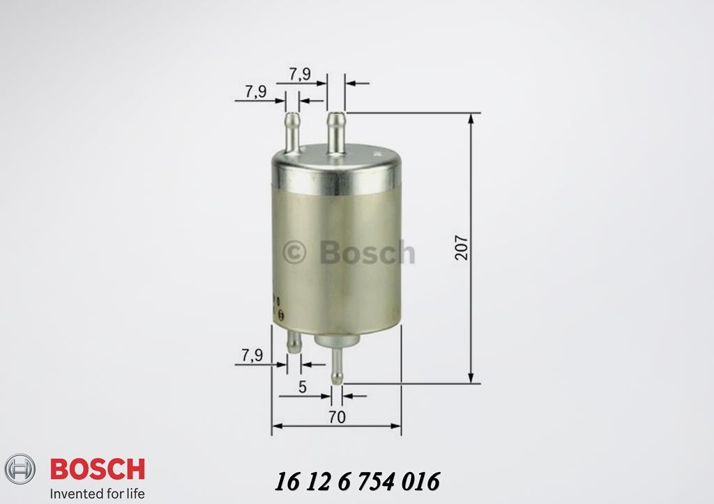fuel filter - bmw e53 x5-series - with pressure regulator